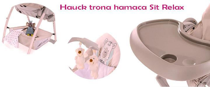 Hauck trona hamaca Sit Relax 3 in 1 stretch