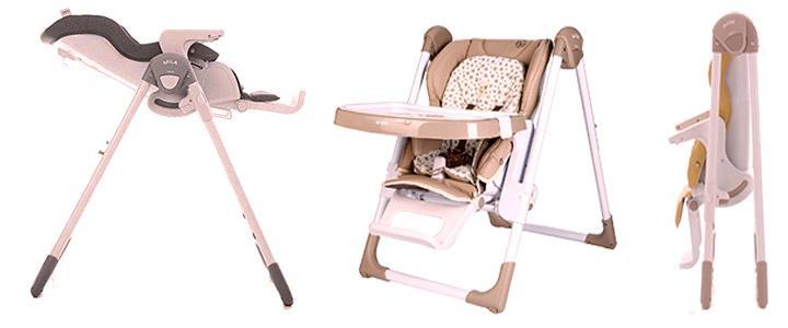Trona de bebé Jane Mila Polipiel