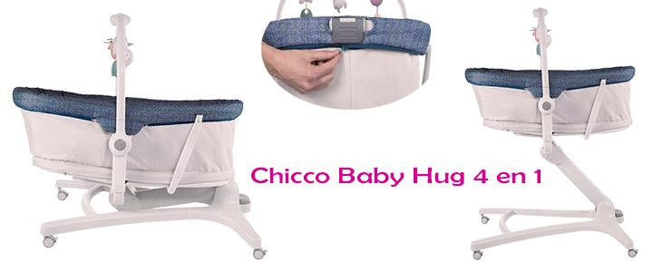 Moisés minicuna multifunción Chicco Baby Hug 4 en 1
