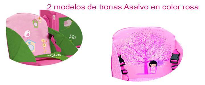 Trona Asalvo rosa